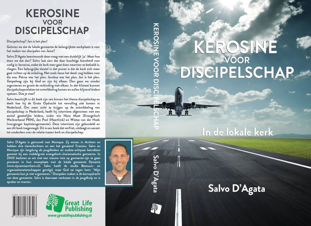 Discipelschap Kerosine cover boek