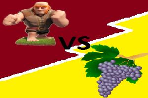 Reuzen versus vruchten, wie wint? (preek)